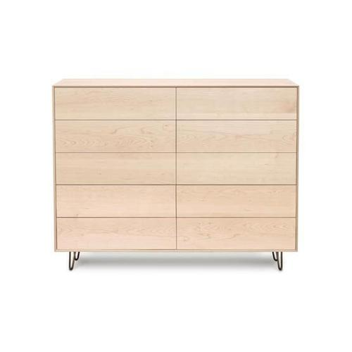 CANVAS 10 DRAWER WITH PUSH TO OPEN DRAWERS DRESSER
