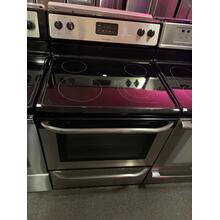 Frigidaire 30'' Freestanding Electric Range (This is a Stock Photo, actual unit (s) appearance may contain cosmetic blemishes. Please call store if you would like actual pictures). This unit carries our 6 month warranty, MANUFACTURER WARRANTY and REBATE NOT VALID with this item. ISI 35312