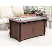 See Details - Classic Dining Height Fire Table