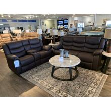 Home Elegance Discus Reclining Sofa and Loveseat