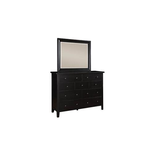 Product Image - Vintage Ebony 9-Drawer Dresser
