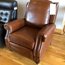 BARCA LOUNGER LEATHER RECLINER ( TWO IN STOCK!)