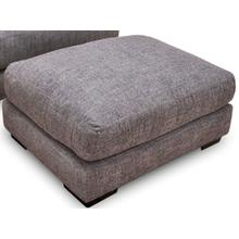 Journey Ottoman in Merriville Graphite Fabric