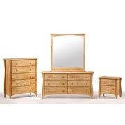 Night and Day Furniture - Clove 2 Drawer Night Stand Natural Finish