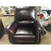 Sophia Premium Leather Push Bask Recliner Product Image