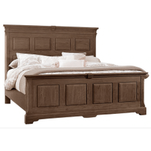 Queen MANSION BED WITH PLATFORM BASE
