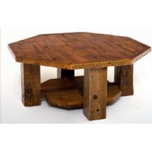 Stony Brooke Octagon Coffee Table with Shelf