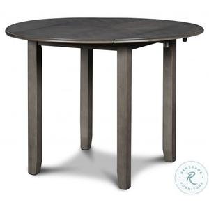 New Classic Furniture - Gia 3 Pc Grey Drop Leaf Dinette Set by New Classic, Model D1701-40