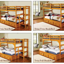 See Details - Honey Configurable Bunk Bed