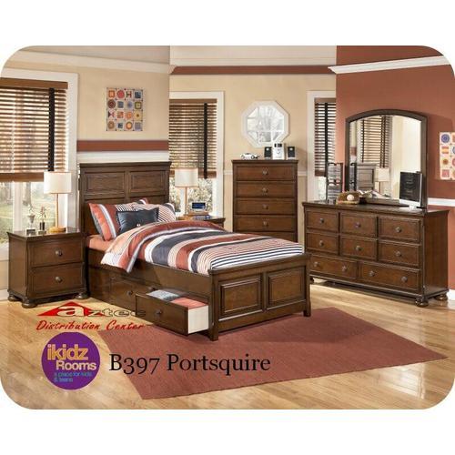 Ashley Furniture - Ashley B397 Portsquire Bedroom set Houston Texas USA Aztec Furniture