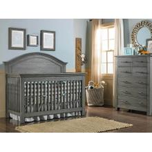 View Product - Lucca Full-Panel Collection - Weathered Grey Finish