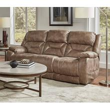 CORINTHIAN 94807-39RS Desert Mushroom Power Reclining Sofa