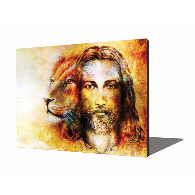 View Product - Wall Art - Jesus with a Lion