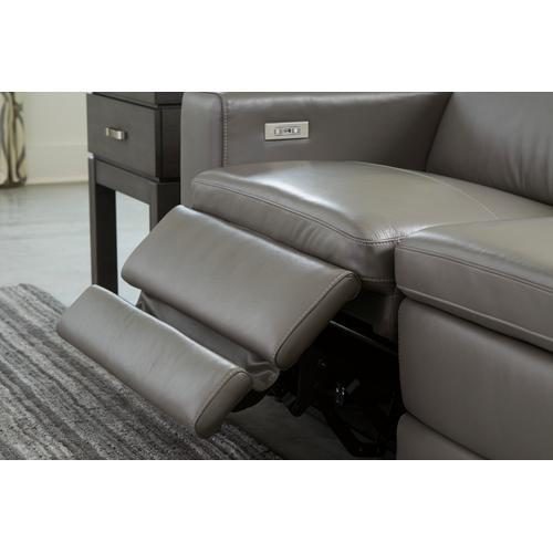 Texline 5 PC Power Reclining Sectional