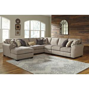 Ashley Furniture - Pantomine Driftwood Sectional with Chaise