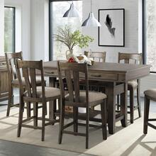 Whiskey River Table and 6 stools