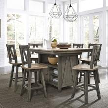 View Product - Dining Room Table with 6 Tall Chairs