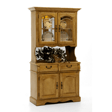 Classic Oak China Cabinet