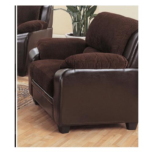 Coaster - Monika Transitional Chocolate Chair