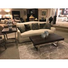 Bench Seat Sofa with Down Blend Cusions