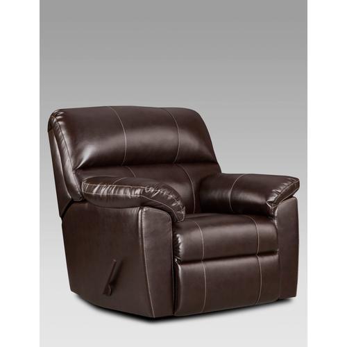 Affordable Furniture - 2450 Austin Chocolate Recliner
