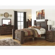 Quinden Post Bedroom Set