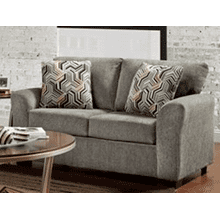 ALLURE LOVESEAT in Grey   (3332,28021)