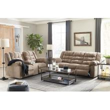Workhorse- Cocoa Reclining Sofa and Loveseat