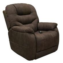 Lift Chair Chaise Lounger Recliner in Gunmetal Polyester