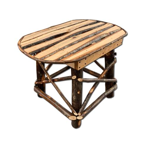 Amish Hickory End Table