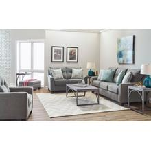 UNITED 2019G Surge Smoke Sofa, Loveseat & Chair Group
