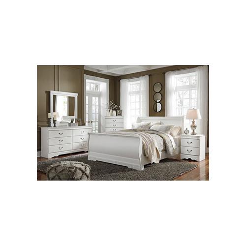 Anarasia Qn Bed, Dresser, Mirror and Nightstand