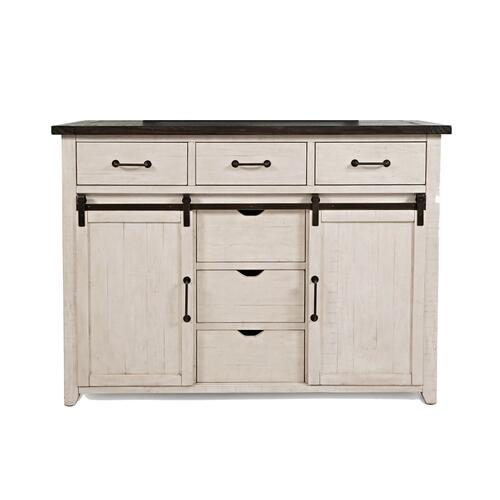 Jofran - Madison County Door Dresser - Vintage White