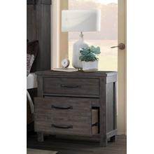 Scott Dark Bedroom - Nightstand