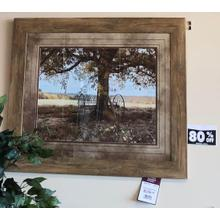 "29.5"" x 35.5"" Framed Tree Photo"