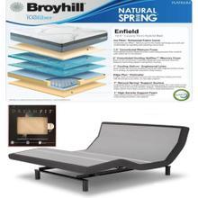 See Details - Leggett & Platt Prodigy 2.0 Adjustable Bed, Broyhill Enfield Cushion Firm Hybrid Mattress and set of Dreamfit Sheets