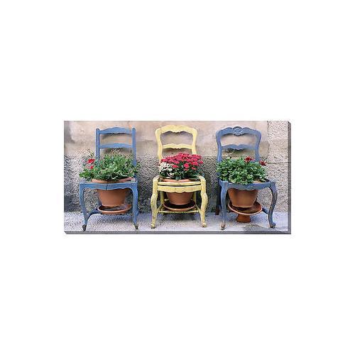 Three Chairs 48 x 24