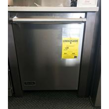 "24"" Dishwasher with Installed Professional Stainless Steel Panel"