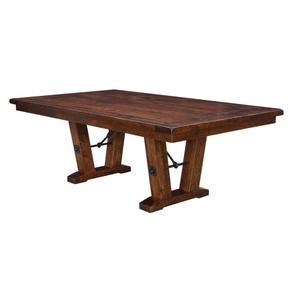 Amish Furniture - Bayfield Trestle Table