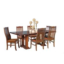 View Product - Live Edge Table and 4 Side Chairs