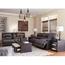 Ashley U609 McCaskill Gray Power Reclining Sofa & Love