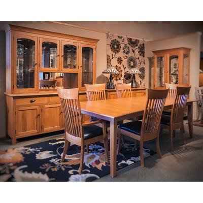 Curved Shaker Dining Room Set