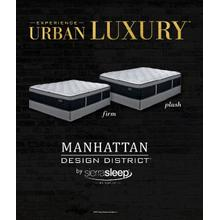 "17"" Firm Manhattan Design by Ashley (Queen Size)"