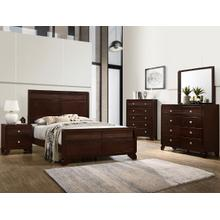 CrownMark 4 Pc Queen Bedroom Set, Tamblin B6850