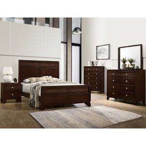 Packages - CrownMark 4 Pc Queen Bedroom Set, Tamblin B6850