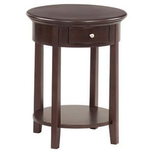 McKenzie round side table