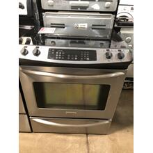 "Used 30"" Slide-in Electric Range"