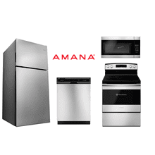 Amana Top Freezer Electric Range