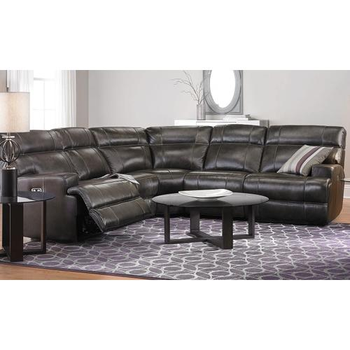 HG19165 LEATHER POWER RECLINE