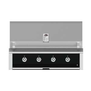 "Aspire By Hestan 42"" Built-In U-Burner Grill NG Stealth Black"